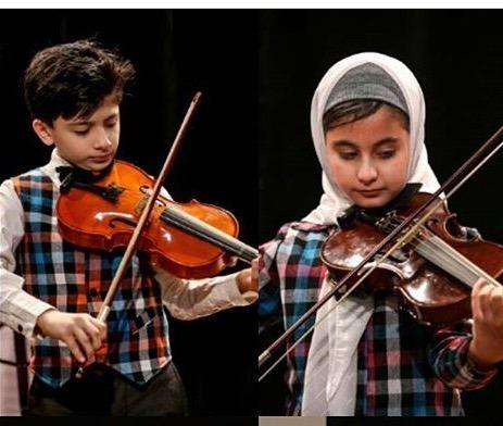 آشنایی با ویولن- آموزشگاه موسیقی